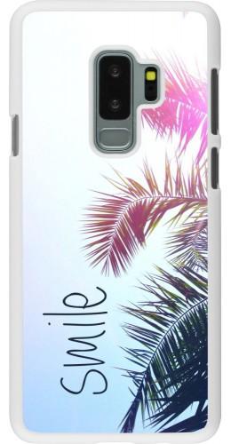 Coque Samsung Galaxy S9+ - Plastique blanc Smile 05