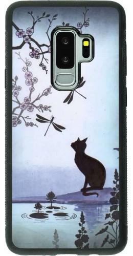 Coque Samsung Galaxy S9+ - Silicone rigide noir Spring 19 12