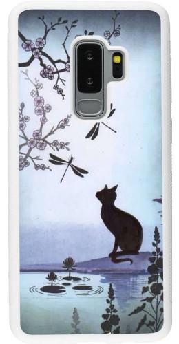 Coque Samsung Galaxy S9+ - Silicone rigide blanc Spring 19 12