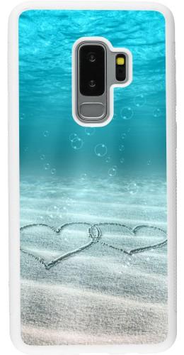 Coque Samsung Galaxy S9+ - Silicone rigide blanc Summer 18 19