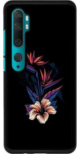 Coque Xiaomi Mi Note 10 / Note 10 Pro - Dark Flowers