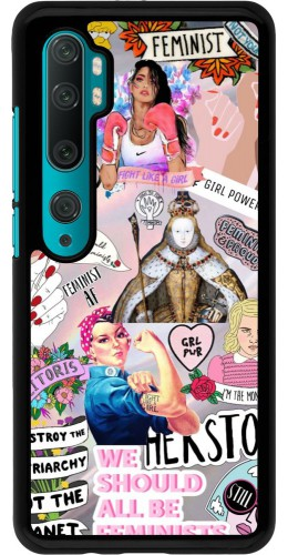 Coque Xiaomi Mi Note 10 / Note 10 Pro - Girl Power Collage