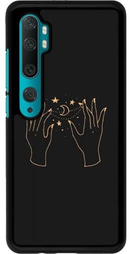 Coque Xiaomi Mi Note 10 / Note 10 Pro - Grey magic hands