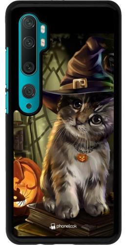 Coque Xiaomi Mi Note 10 / Note 10 Pro - Halloween 21 Witch cat