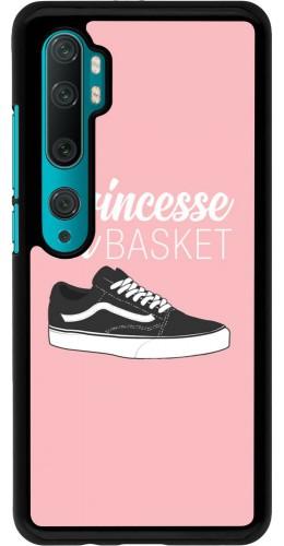 Coque Xiaomi Mi Note 10 / Note 10 Pro - princesse en basket
