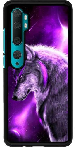 Coque Xiaomi Mi Note 10 / Note 10 Pro - Purple Sky Wolf