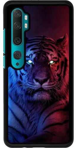Coque Xiaomi Mi Note 10 / Note 10 Pro - Tiger Blue Red