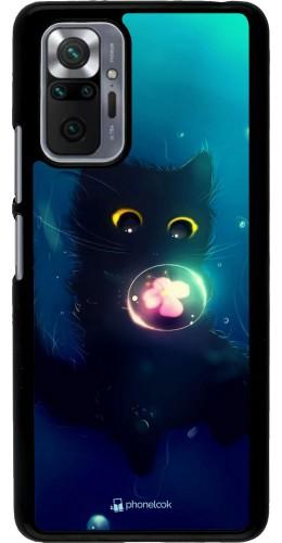 Coque Xiaomi Redmi Note 10 Pro - Cute Cat Bubble