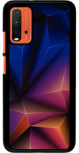 Coque Xiaomi Redmi 9T - Abstract Triangles