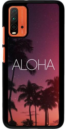 Coque Xiaomi Redmi 9T - Aloha Sunset Palms