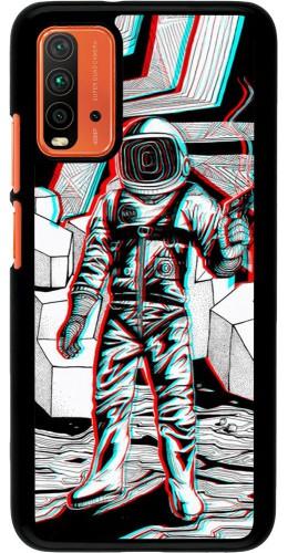 Coque Xiaomi Redmi 9T - Anaglyph Astronaut