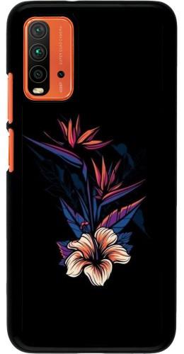 Coque Xiaomi Redmi 9T - Dark Flowers
