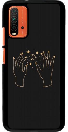 Coque Xiaomi Redmi 9T - Grey magic hands