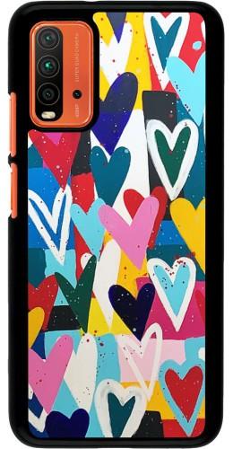 Coque Xiaomi Redmi 9T - Joyful Hearts