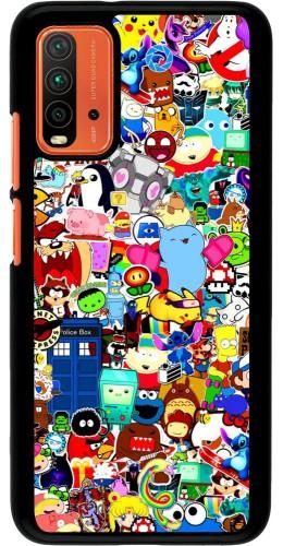 Coque Xiaomi Redmi 9T - Mixed cartoons