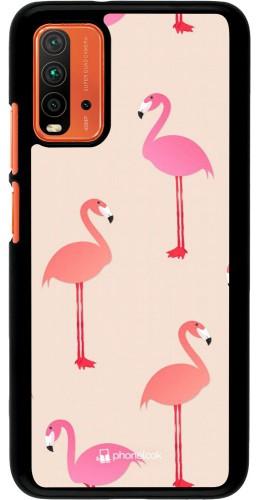 Coque Xiaomi Redmi 9T - Pink Flamingos Pattern