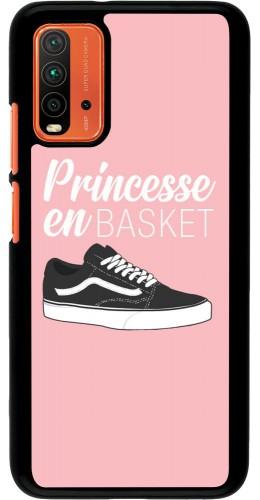 Coque Xiaomi Redmi 9T - princesse en basket