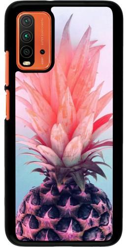 Coque Xiaomi Redmi 9T - Purple Pink Pineapple