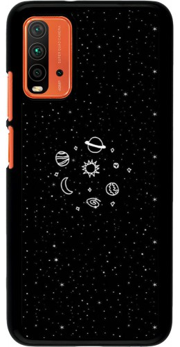 Coque Xiaomi Redmi 9T - Space Doodle