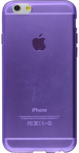Housse iPhone 6/6s - Gel transparent violet