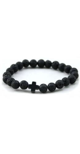 Bracelet Stonekross noir