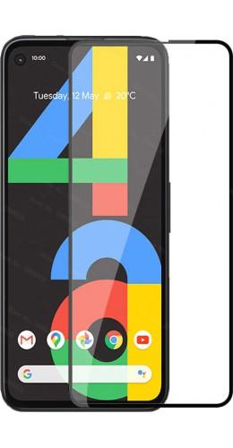 3D Tempered Glass vitre de protection noir - Google PIXEL 4a