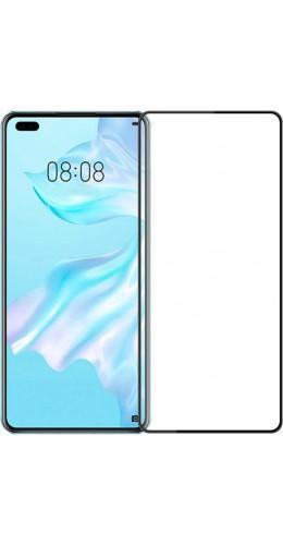 3D Tempered Glass Huawei P40 - Vitre de protection d'écran intégrale verre trempé avec bords noirs
