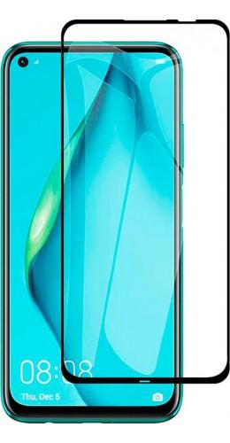 3D Tempered Glass vitre de protection noir - Huawei P40 Lite