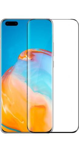 3D Tempered Glass vitre de protection noir - Huawei P40 Pro