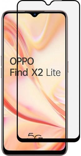 3D Tempered Glass OPPO Find X2 Lite - Vitre de protection d'écran intégrale verre trempé avec bords noirs