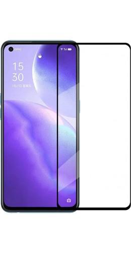 3D Tempered Glass OPPO Find X3 Lite - Vitre de protection d'écran intégrale verre trempé avec bords noirs