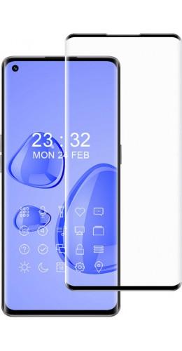 3D Tempered Glass OPPO Find X3 Neo - Vitre de protection d'écran intégrale verre trempé avec bords noirs