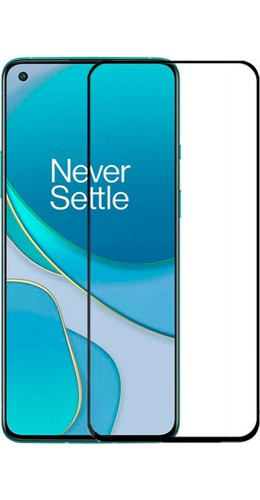 3D Tempered Glass OnePlus 8T - Vitre de protection d'écran intégrale verre trempé avec bords noirs