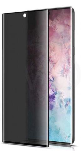 3D Tempered Glass vitre de protection noir Privacy - Galaxy S20FE