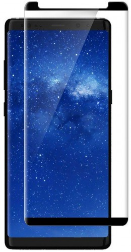 3D Tempered Glass vitre de protection noir - Samsung Galaxy Note8