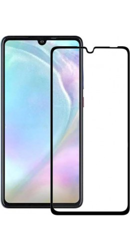 3D Tempered Glass vitre de protection noir - Huawei P30 Lite