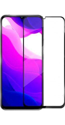 3D Tempered Glass Xiaomi Mi 10 Lite 5G - Vitre de protection d'écran intégrale verre trempé avec bords noirs