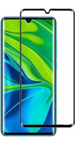 3D Tempered Glass vitre de protection noir - Xiaomi Mi Note 10