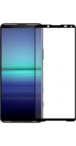 3D Tempered Glass vitre de protection noir - Sony Xperia 5 II