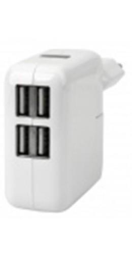 Adaptateur secteur 10W 4x USB