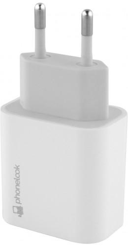 Adaptateur secteur USB-C 20W PhoneLook  blanc