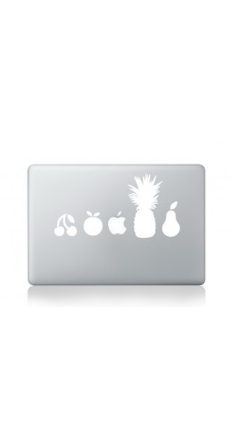 "Autocollant MacBook 11"" -  Multifruit"