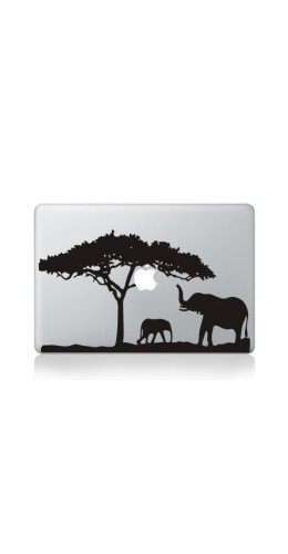 "Autocollant MacBook 15"" -  Savanna View"