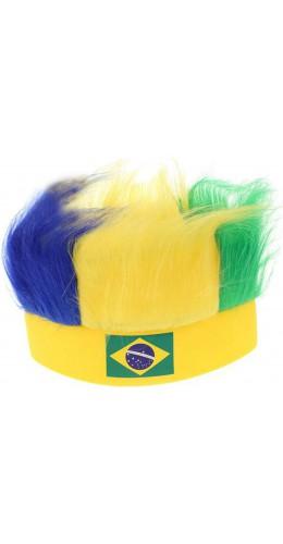 Bandeau avec cheveux Brésil