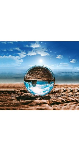 Boule de cristal pour photographie diamètre Ø 6 cm