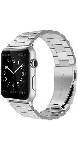 Bracelet en acier argent - Apple Watch 42mm / 44mm