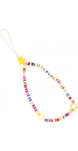 Bracelet étoiles love perles strap