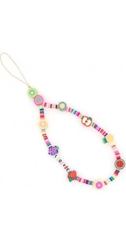 Bracelet fruits love perles strap