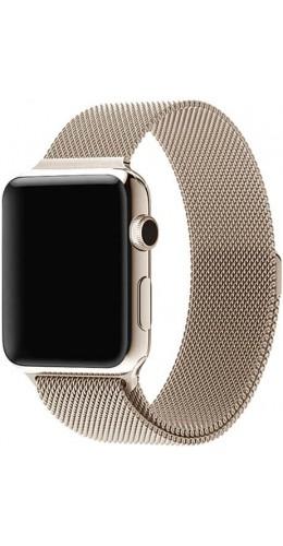 Bracelet milanais en acier or vintage - Apple Watch 38mm / 40mm