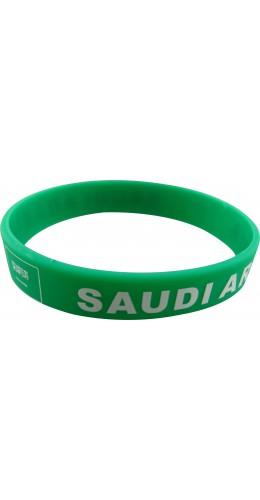 Bracelet silicone Arabie saoudite